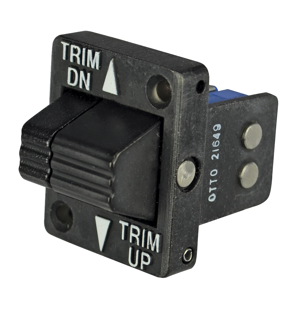 Supplier of Double Pole Momentary Trim Switches – OTTO Controls